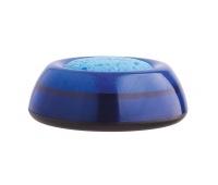 Sponge Damper ICO Lux, plastic container, transparent blue