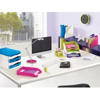 Lampka na biurko CEP CLED-400, 7, 5W, ze ściemniaczem, srebrna, Lampki, Urządzenia i maszyny biurowe