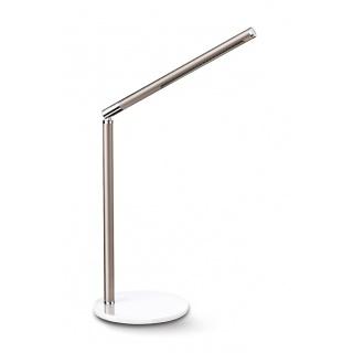 Lampka na biurko CEP CLED-100, 3W, ze ściemniaczem, beżowo-biała, Lampki, Urządzenia i maszyny biurowe