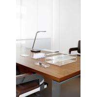 Lampka LED na biurko MAULpure, 9W, ze ściemniaczem, srebrna, Lampki, Urządzenia i maszyny biurowe