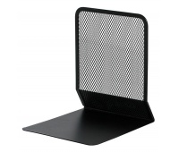 Bookend Q-CONNECT, metal, black