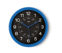 Wall Clock CEP Pro Gloss, 60cm, blue