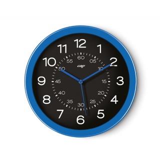 Zegar ścienny CEP Pro Gloss, 30cm, niebieski, Zegary, Wyposażenie biura
