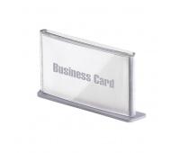 Tabliczki informacyjne PAPERFLOW, wizytówka, srebrne, Tabliczki, Wyposażenie biura