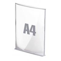 Tabliczki informacyjne A4 srebrne, Tabliczki, Wyposażenie biura