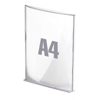 Tabliczki informacyjne PAPERFLOW, A4, srebrne, Tabliczki, Wyposażenie biura