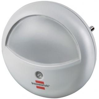 Lampka nocna BRENNENSTUHL do korytarza, okrągła, biała, Przedłużacze, listwy, zasilacze, UPSy, Urządzenia i maszyny biurowe