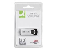 Nośnik pamięci Q-CONNECT USB, 32GB, Nośniki danych, Akcesoria komputerowe