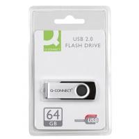 Nośnik pamięci Q-CONNECT USB, 64GB, Nośniki danych, Akcesoria komputerowe