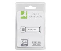 Nośnik pamięci Q-CONNECT USB 3. 0, 64GB, Nośniki danych, Akcesoria komputerowe