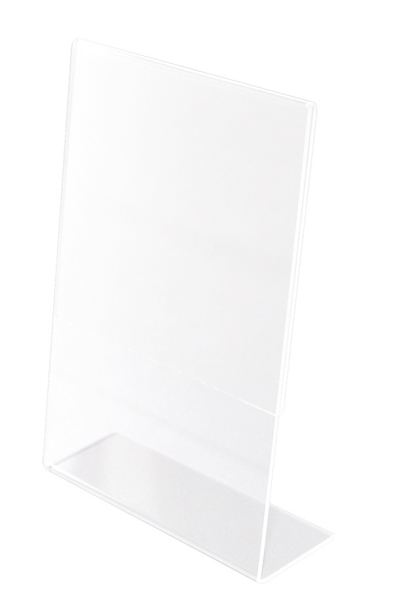Display Holder, Q-CONNECT, plexi, 100x150mm, clear