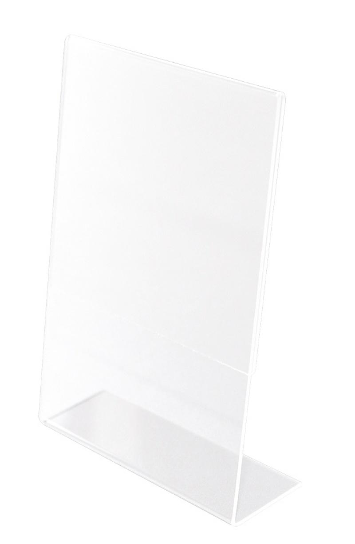 Display Holder, Q-CONNECT, plexi, 150x210mm, clear