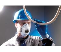 Protective Half Mask SPIROTEK VS2200CV FFP2, white
