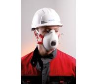 Protective Half Mask SPIROTEK VS2300V FFP3, white