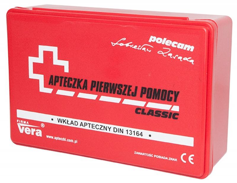 Apteczka uniwersalna CERVA, w pudełku, Plastry, apteczki, Artykuły higieniczne i dozowniki