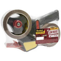Packaging Tape Set SCOTCH® (309 BUFF), acrylic, 2pcs, brown, FREE dispenser
