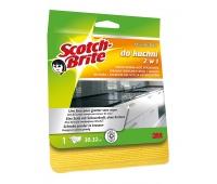 Ścierka z mikrofibry SCOTCH BRITE™ do kuchni, żółta, Akcesoria do sprzątania, Artykuły higieniczne i dozowniki