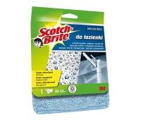 Ścierka z mikrofibry SCOTCH BRITE™ do łazienki, jasnoniebieska, Akcesoria do sprzątania, Artykuły higieniczne i dozowniki
