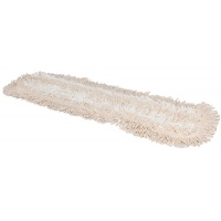 Mop supełkowy z mikrowłókna DUOTEX, czyści na mokro, beżowy, Akcesoria do sprzątania, Artykuły higieniczne i dozowniki