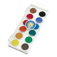 Farby akwarelowe ICO, mix kolorów, Plastyka, Artykuły szkolne