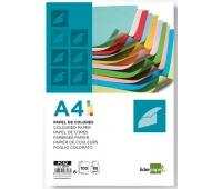 Papier kolorowy LIDERPAPEL, 10x neonowy, 100 arkuszy, mix kolorów, Papiery specjalne, Papier i etykiety