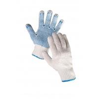 Rękawice Plover, montażowe, rozm. 10, biało-niebieskie, Rękawice, Ochrona indywidualna
