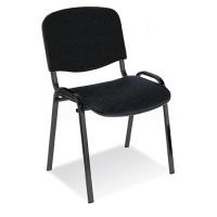 Krzesło konferencyjne OFFICE PRODUCTS Kos Premium, grafitowe, Krzesła i fotele, Wyposażenie biura