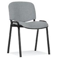 Krzesło konferencyjne OFFICE PRODUCTS Kos Premium, jasnoszare, Krzesła i fotele, Wyposażenie biura