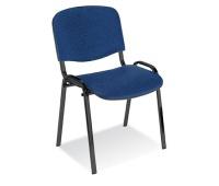 Krzesło konferencyjne OFFICE PRODUCTS Kos Premium, niebieskie, Krzesła i fotele, Wyposażenie biura