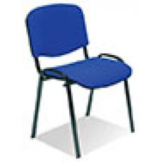 Krzesło konferencyjne OFFICE PRODUCTS Kos Premium, granatowe, Krzesła i fotele, Wyposażenie biura