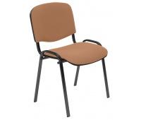 Krzesło konferencyjne OFFICE PRODUCTS Kos Premium, beżowe, Krzesła i fotele, Wyposażenie biura