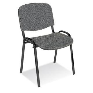 Krzesło konferencyjne OFFICE PRODUCTS Kos Premium, szare, Krzesła i fotele, Wyposażenie biura