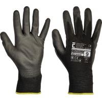 Rękawice Evolution Black, montażowe, rozm. 7, czarne, Rękawice, Ochrona indywidualna