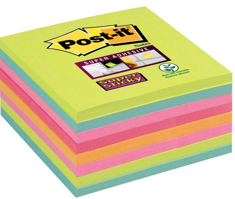 karteczki, bloczek, notes, karteczki samoprzylepne, post it, bloczek samoprzylepny, post-it, kartki samoprzylepne, karteczki samoprzylepny, bloczki, postit, BLOCZEK, 654-8SS-RBW, super sticky,