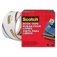 Taśma klejąca SCOTCH® Book Repair (845), do naprawy książek, 50,8mm, 13,7m, transparentna, Taśmy biurowe, Drobne akcesoria biurowe