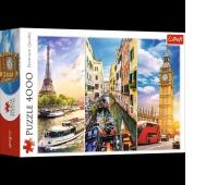 "PUZZLE ""4000 - Wycieczka po Europie"", Podkategoria, Kategoria"