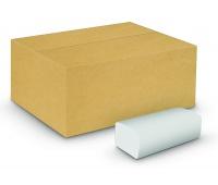 Ręczniki składane ZZ celulozowe VELVET Economy, 2-warstwowe, 3000 listków, 20szt., białe, Ręczniki papierowe i dozowniki, Artykuły higieniczne i dozowniki