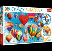 Puzzle 600 Crazy Shapes - Kolorowe balony, Podkategoria, Kategoria