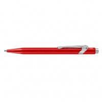Długopis CARAN D'ACHE 849 Line Metal-X, M, czerwony, Długopisy, Artykuły do pisania i korygowania