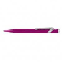 Długopis CARAN D'ACHE 849 Line Metal-X, M, fioletowy, Długopisy, Artykuły do pisania i korygowania