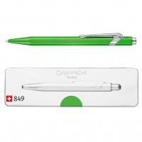 Długopis CARAN D'ACHE 849 Pop Line Fluo, M, w pudełku, zielony, Długopisy, Artykuły do pisania i korygowania