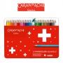 Kredki CARAN D'ACHE Swisscolor Aquarelle, z efektem akwareli, sześciokątne, 30szt., mix kolorów
