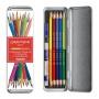 Zestaw kredek CARAN D'ACHE Prismalo Bicolor, sześciokątne, dwustronne, 10 szt., mix kolorów