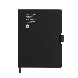 Notatnik CARAN D'ACHE Office, A5, 192 kart., czarny, Notatniki, Zeszyty i bloki