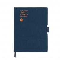 Notatnik CARAN D'ACHE Office, A5, 192 kart., niebieski, Notatniki, Zeszyty i bloki