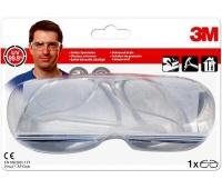 Okulary ochronne 3M Virtua AP, transparentne, Okulary, Ochrona indywidualna