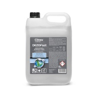 CLINEX Dezofast 77-017 professional cleaning disinfectant, bactericidal, viricidal and fungicidal, 5L
