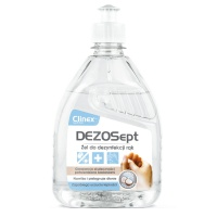 CLINEX Dezosept 77-018 hand sanitizer gel, viricidal, 500ml