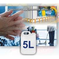 Płyn do dezynfekcji rąk i powierzchni 5l, Płyny, Ochrona indywidualna
