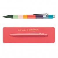 Długopis CARAN D'ACHE 849 Paul Smith #3 Coral Pink, M, w pudełku, koralowy, Długopisy, Artykuły do pisania i korygowania